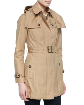 Fenstone Belted Trench Parka