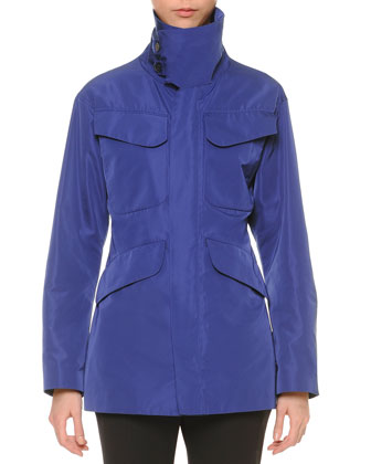 Funnel-Neck Hunting Jacket