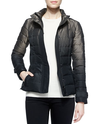 Degrade Puffer Jacket