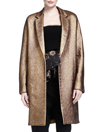 Burnished Metallic Easy Coat