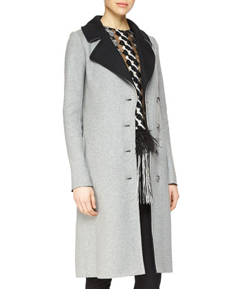 Cashmere Double-Faced Topper Coat