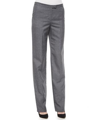 Woven Straight-Leg Pants