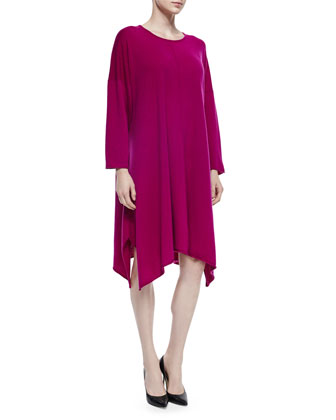 Cashmere Handkerchief A-Line Dress