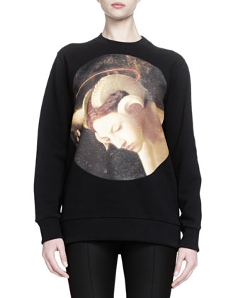 Visage Graphic Print Sweatshirt