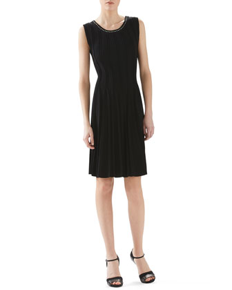 Viscose Stretch Knit Dress