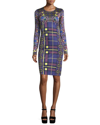 Heritage Paisley-Print Sheath Dress