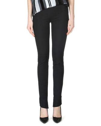 Latrilla Wide-Stripe Off-The-Shoulder Top & Mortimer Side-Zip Leggings