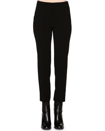 Monia Slim-Fit Ankle Pants