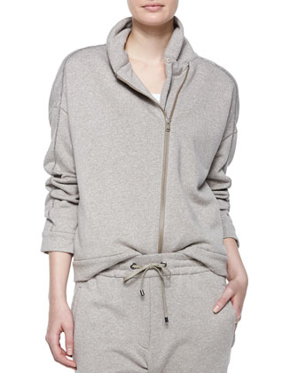 Long-Sleeve Spa Jacket, Drawstring-Waist Sweatpants & Cashmere-Blend ...