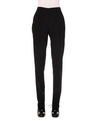 Slim-Fit Natural-Rise Pants