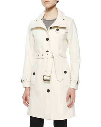 Rushfield Single-Breasted Trench Coat
