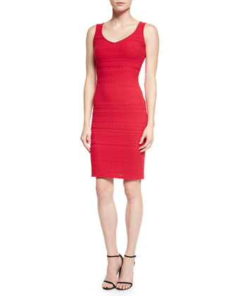 Colette Knit Sheath Dress, Granita