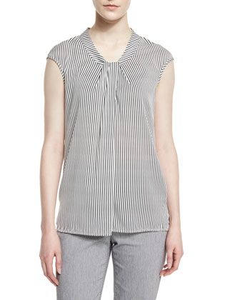 Nouveau Boucle Knit Spencer Jacket, Caviar