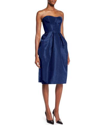 Strapless Sweetheart Full Skirt Dress