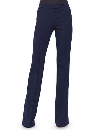 Elements Square-Neck Top & Milton Slim-Leg Pants