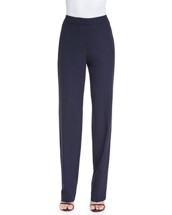 Modern Stretch Tropical Pants, Navy