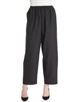 Longer Japanese Trousers, Charcoal