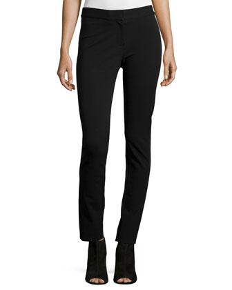 Hanne Mid-Rise Leggings, Black