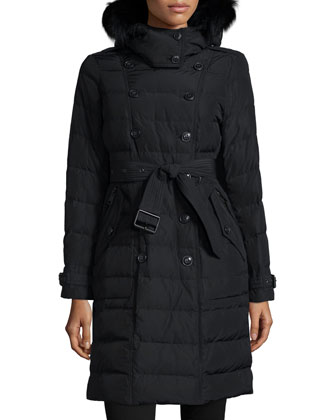 Allerdale Hooded Puffer Coat W/ Removable Fur Trim