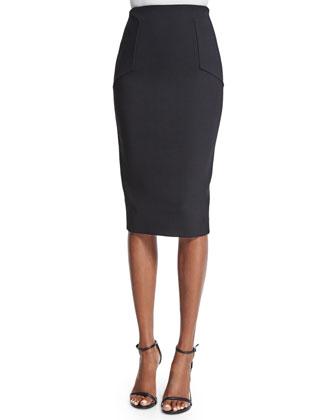 Sleeveless Embellished Draped Top, Black