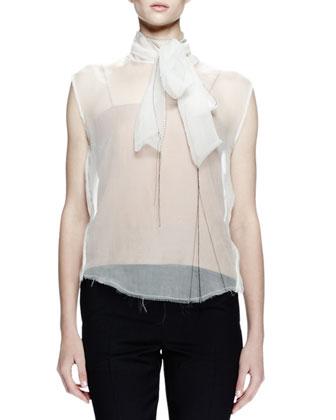 Long-Sleeve Shawl-Collar Jacket, Black