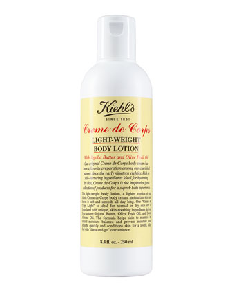 Creme de Corps Light-Weight Body Lotion, 8.4 fl. oz.