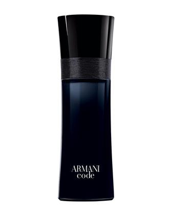 Armani Code Eau de Toilette, 2.5oz