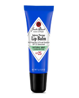 Jack Black Intense Natural Mint Therapy Lip Balm SPF 25
