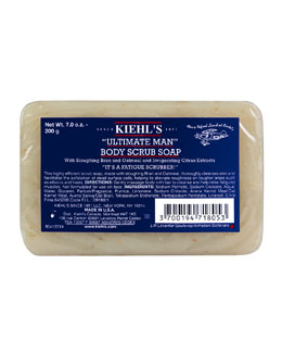 Kiehl's Since 1851 Ultimate Man Body Scrub Soap