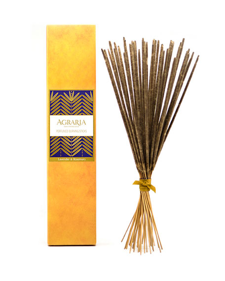 Agraria Lavender-Rosemary Perfumed Burning Sticks
