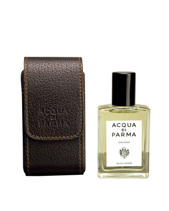 Colonia Leather Travel Spray, 1 ounce