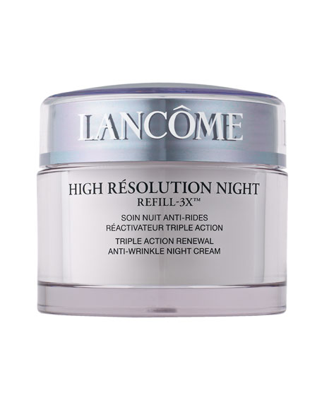 Lancome High Resolution Night Refill-3X , 2.6 oz