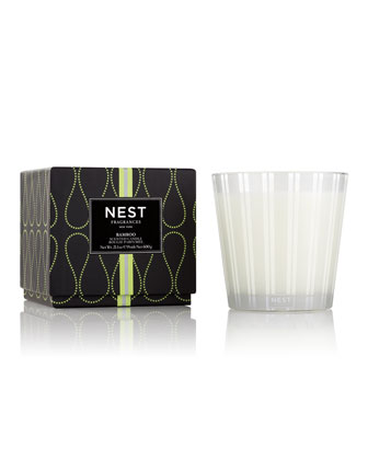 3-Wick Candle, Bamboo