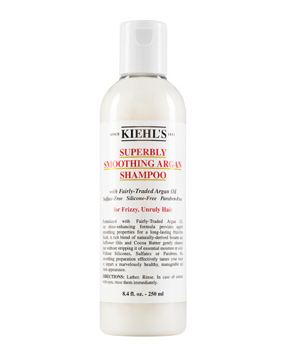 Kiehl's Since 1851 Superbly Smoothing Argan Shampoo, 8.0 oz.