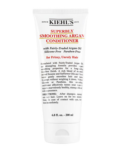 Kiehl's Since 1851 Superbly Smoothing Argan Conditioner, 6.8 oz.