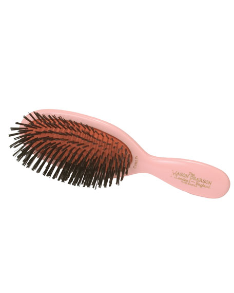 Mason Pearson Childs Pink Bristle Hair Brush