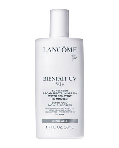 Lancome Bienfait UV SPF 50+ Super Fluid Facial Sunscreen