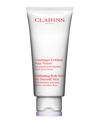 Clarins Smoothing Body Scrub for a New Skin