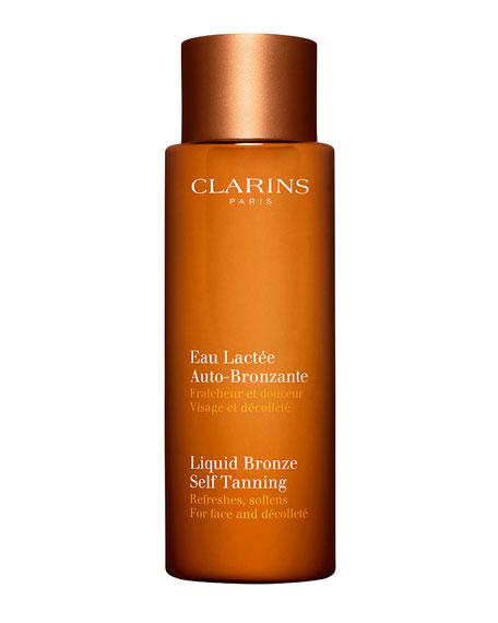Clarins Liquid Bronze Self-Tanning for Face & Decollete