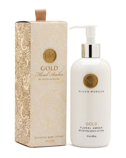 Niven Morgan GOLD BODY LOTION 11OZ