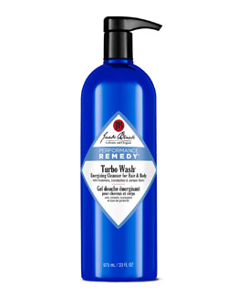Jack Black Turbo Wash Energizing Hair & Body Cleanser, 33 oz.