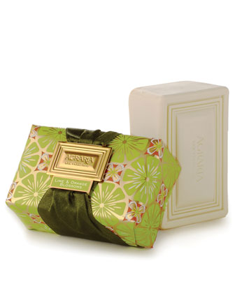 Lime and Orange Blossom Bar