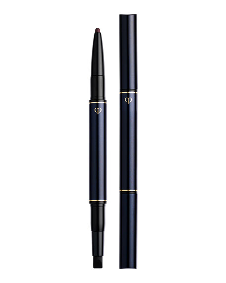 Cle De Peau Eye Liner Pencil & Holder