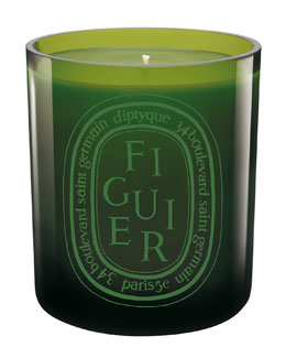 Diptyque Colored Candle Green Figuier
