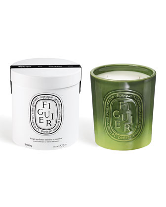 Ceramic Figuier Scented Candle