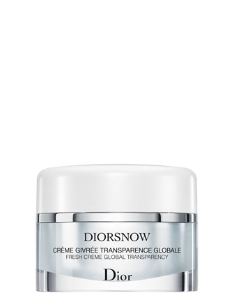 DIORSNOW Fresh Creme Global Transparency