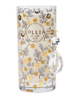 Lollia At Last Petite Luminary Candle
