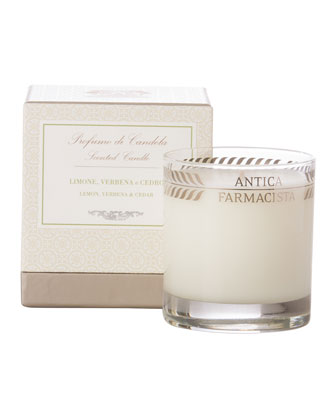 Round Lemon Verbena Candle, 9 oz.