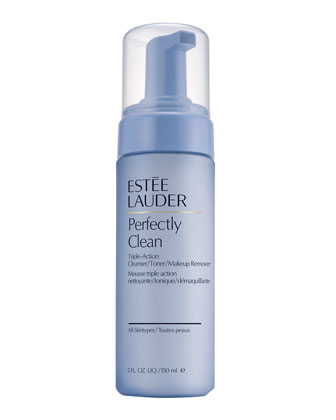 Perfectly Clean Triple-Action Cleanser, Toner & Makeup Remover