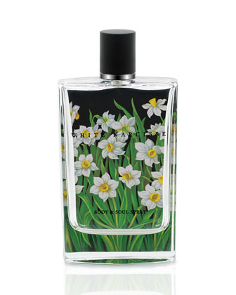 White Narcisse Body and Soul Spray, 100ml